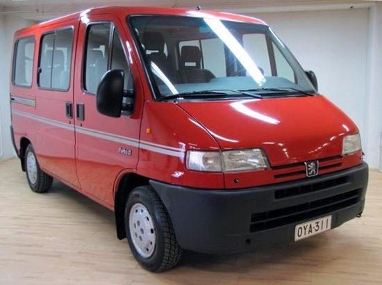 микроавтобус Пежо Боксер 1994-2002