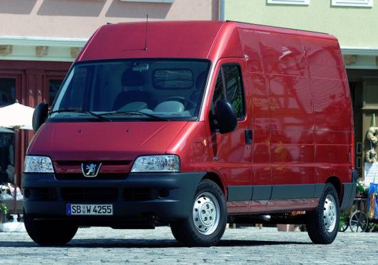 грузовой Peugeot Boxer Van (2003-2006)