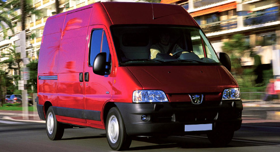 Peugeot Boxer Van (1994-2006) на IronHorse.ru ©