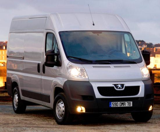 фургон Пежо Боксер 2-го поколения