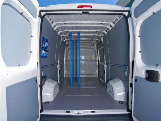 грузовой отсек Peugeot Boxer 2 Van