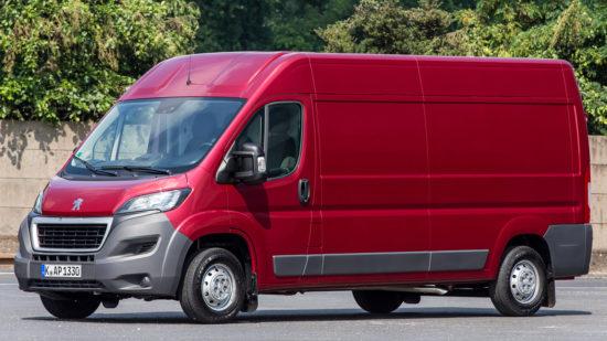 фургон Пежо Боксер 3-го поколения
