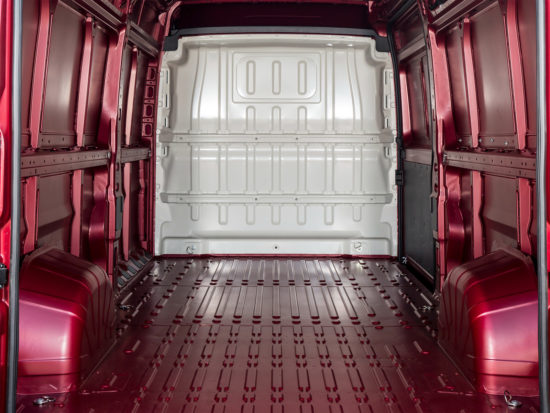 грузовой отсек Peugeot Boxer 3 Van