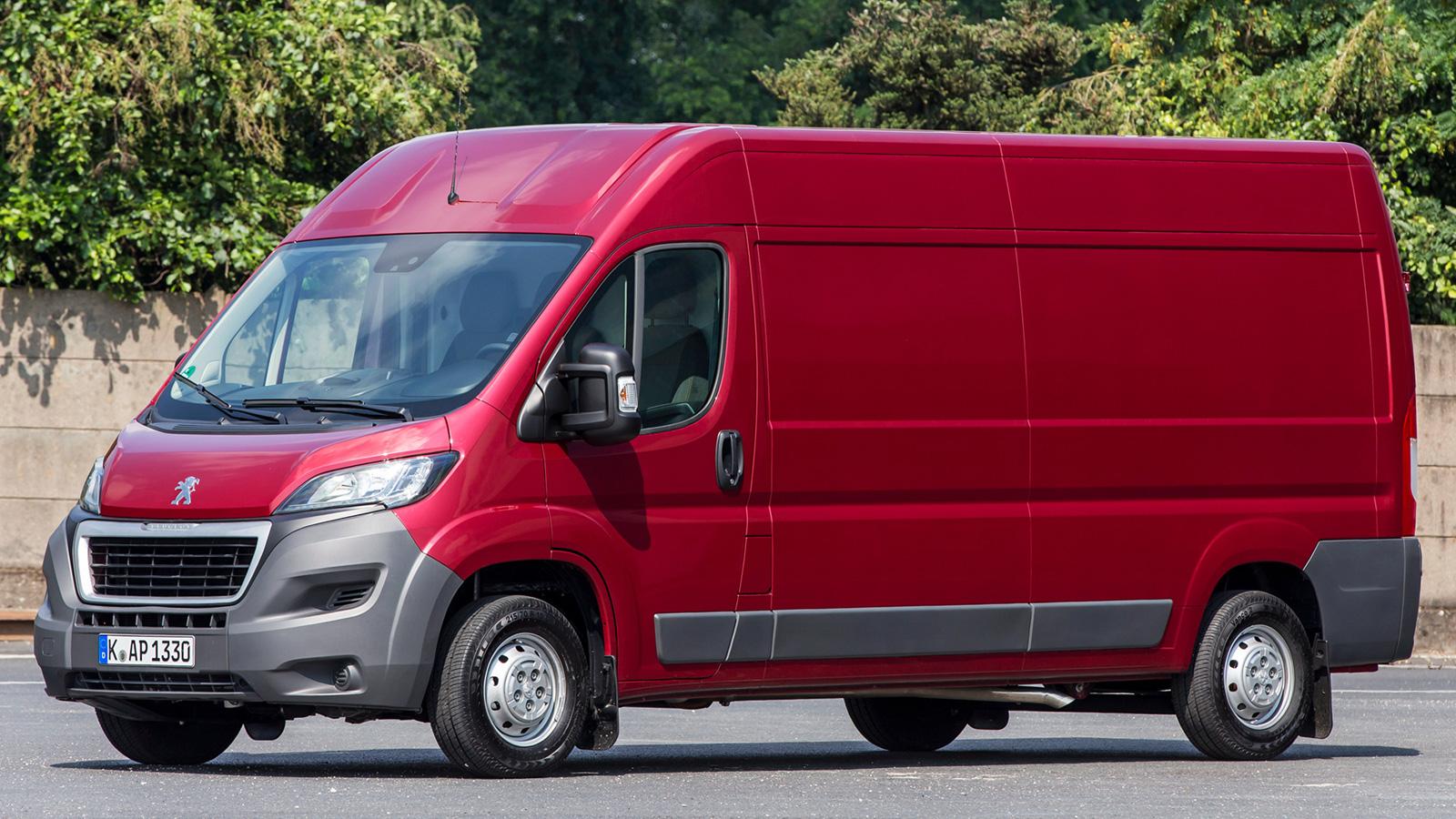 пежо боксер грузовой фургон технические характеристики