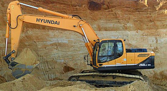 Hyundai R260LC-9S на IronHorse.ru ©