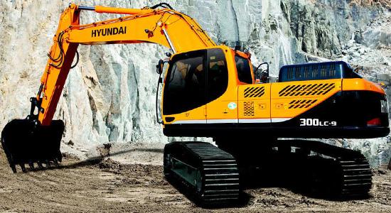 Hyundai R300LC-9S на IronHorse.ru ©