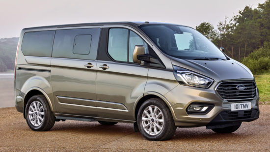 Ford Tourneo Custom (обновленный)