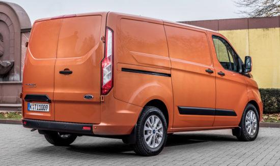 Ford Transit Custom 1-го поколения