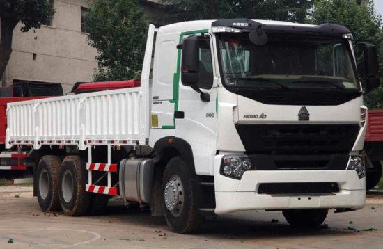 бортовой грузовик ХОВО А7 6х4