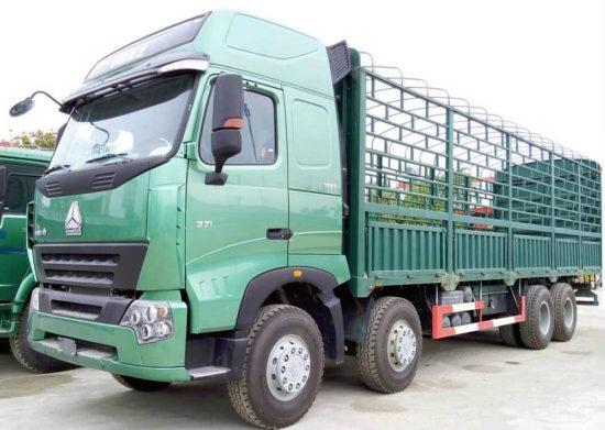 бортовой грузовик ХОВО А7 8х4