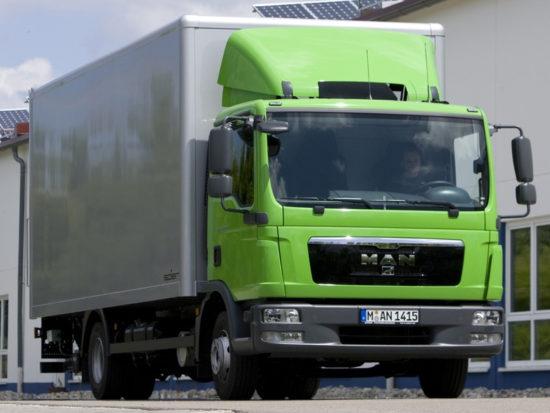 фургон MAN TGL 4x2 2-го поколения