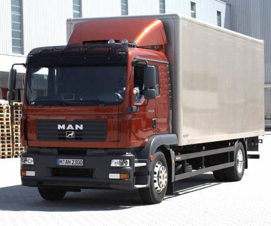 фургон MAN TGM 4x2 1-го поколения