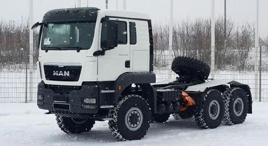 MAN TGS 6x6 (тягач) на IronHorse.ru ©